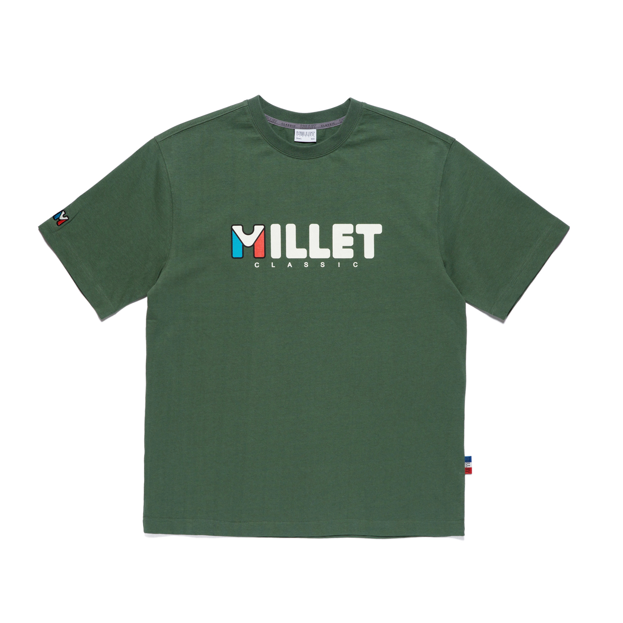 빅 로고 MVS COTTON S/S GREEN 반팔