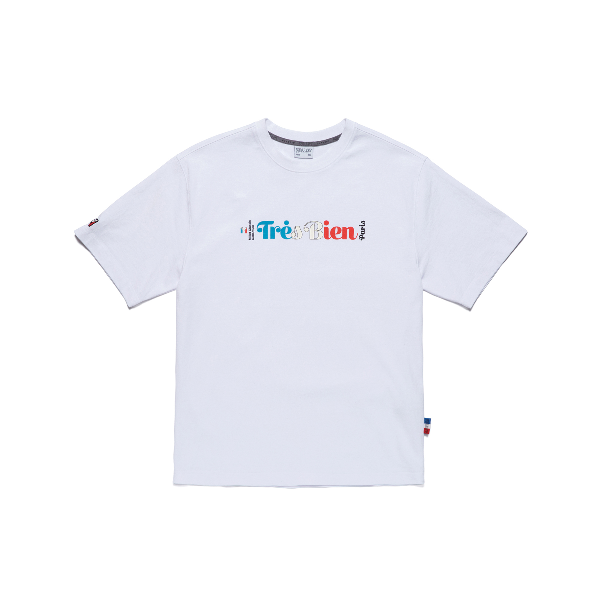 TRESBIEN MVS COTTON S/S WHITE 반팔